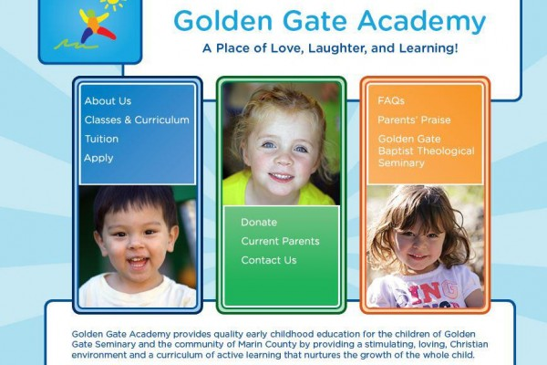 Golden Gate Academy – Website
